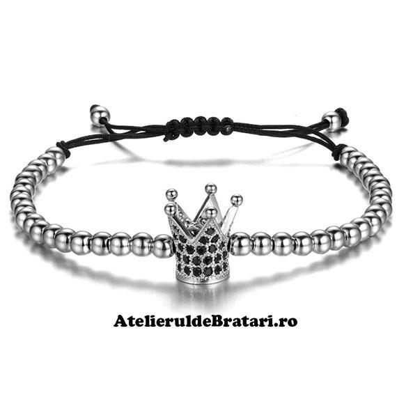 Bratara dama cu Argint 925 cu coronita